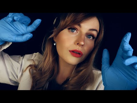 [ASMR] Doctor Heals You ROLEPLAY- LatexGloves Hand Movements