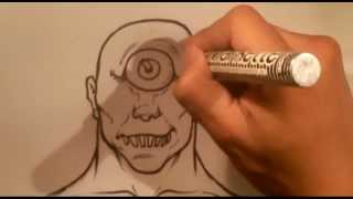How to Draw a Cyclops - Easy Things to Draw