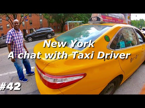 A Chat With New York Taxi Driver | New York Taxi | New York Taxi Driver From Ghana