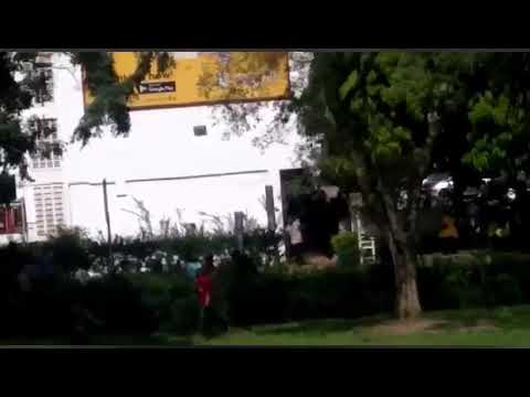 Vandals run as okpo and Katanga approaches