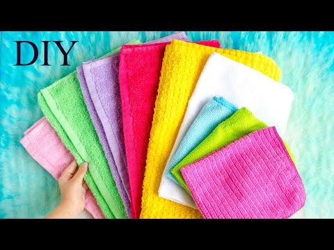 Как красиво упаковать полотенце в подарок своими руками