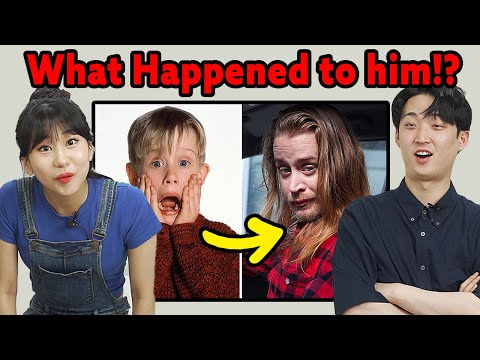 Korean in their 20s React to Hollywood Celebrities Who Changed completely after Aging!!!mp4