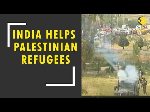 India steps up to help Palestinian refugees