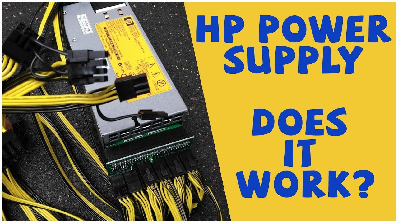 HP Power Supply for your mining rig! YES!
