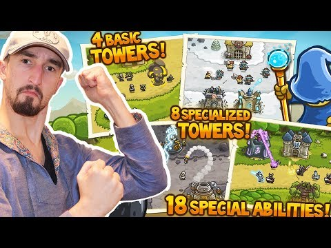 THE MOST OG TOWER DEFENSE GAME EVER! - KINGDOM RUSH! |