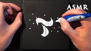 ASMRctica ASMR Now on the Tingles App | Drawing on Notebook Cover