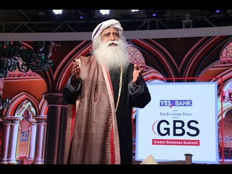 "Sadhguru Jaggi Vasudev: ""There are no problems in the world, only situations"""