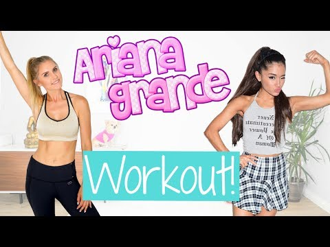 Ariana Grande Inspired Workout | Rebecca Louise