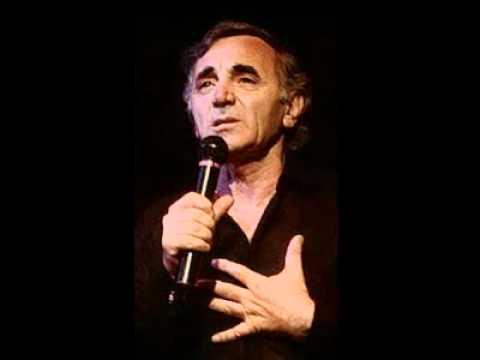 Charles Aznavour - Ayer cuando fui joven - (En español)