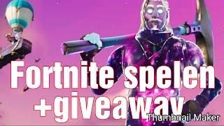 Fortnite spelen+sparkler emote giveaway