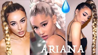 "GET ARIANA GRANDE'S 40"" BRAID + MAKEUP from No Tears left to cry : Inspired look // Emilie Maggie"