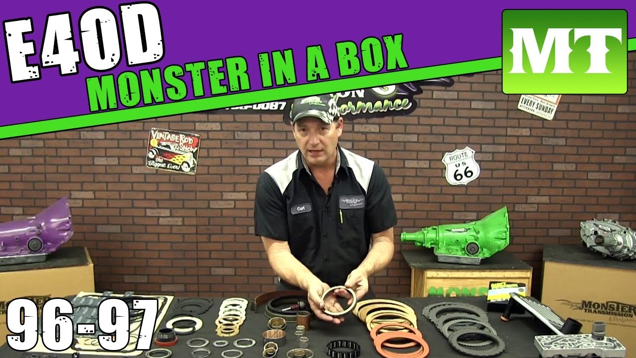 Monster transmission rebuild kit-4954