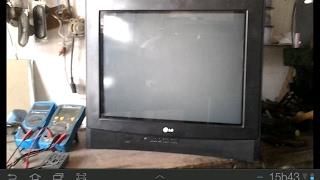 (63 )# TV LG ACENDE O LED LIGA E DESLIGA