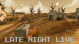 Late Night: TF2 [Live Commentary] All the Snipers