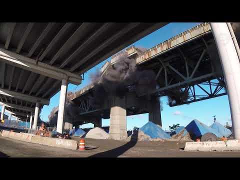 Energetic Felling of the Old Kosciuszko Bridge