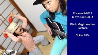 Audrey (10 years old) plays Guitar -Black Magic Woman - Santana サ...