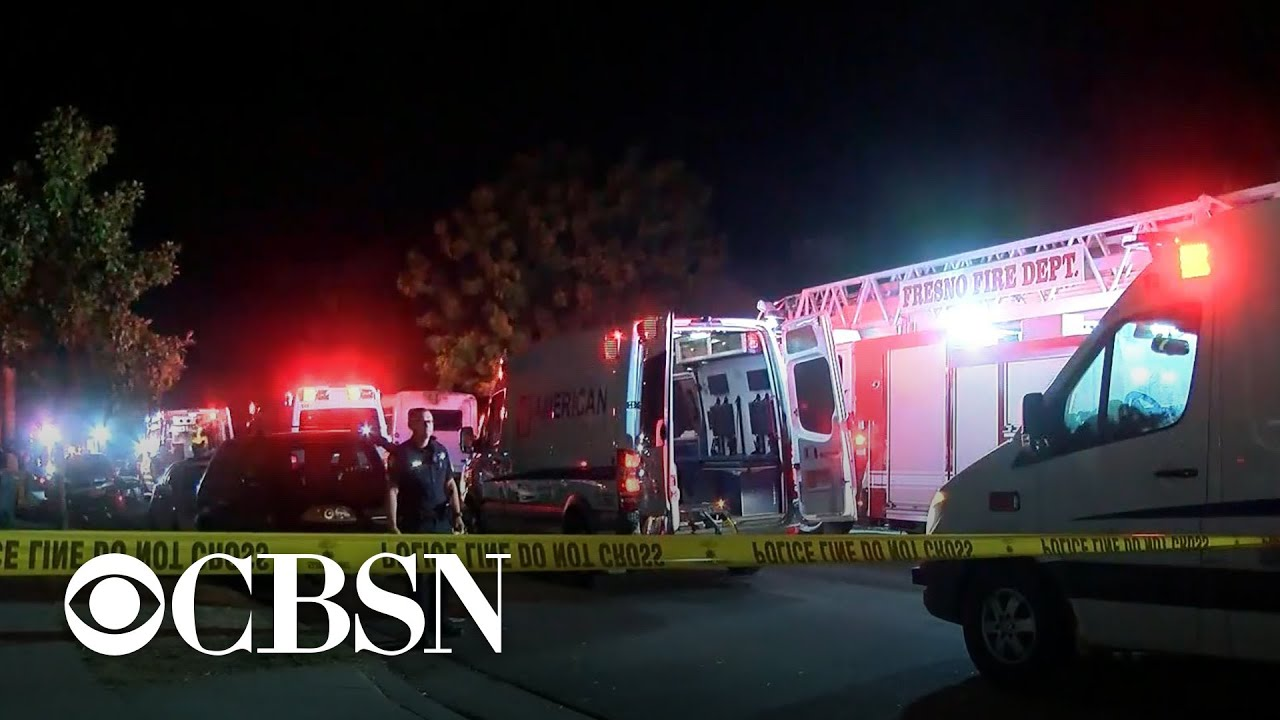 4 people killed, 6 wounded in shooting at Fresno party