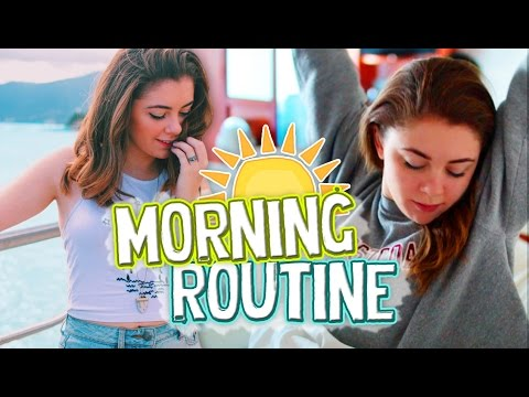 Morning Routine 2016! How I Get Ready On Vacation! // Jill Cimorelli