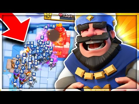 LOOK AT THIS HILARIOUS TROLL DECK in Clash Royale!!