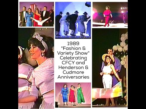 """CFCY - Henderson & Cudmore """"Variety/ Fashion Show"""" PEI"""