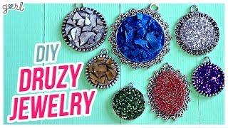 Do It, Gurl – Easy DIY Druzy Jewelry