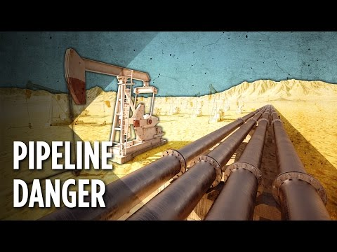 How Dangerous Are America's 2.5 Million Miles Of Oil Pipelines?