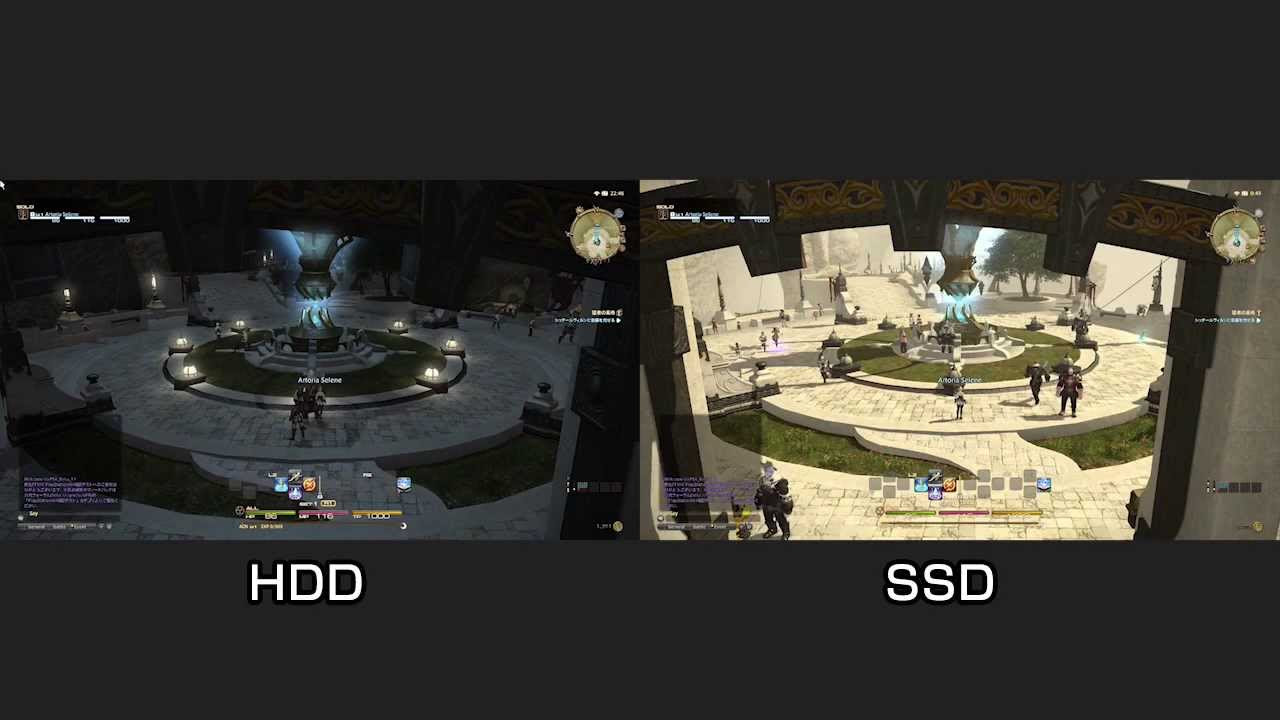 PC版FF14をSSDへインストール、効果と速度を比較してみました \u2013 やっぱりゲームが好き