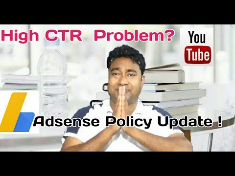 High CTR problem of Youtubers !! New Update in Adsense Policy ! Good News