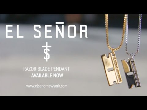 El seor razor blade pendant ad summer 2015 youtube el seor razor blade pendant ad summer 2015 thecheapjerseys Choice Image