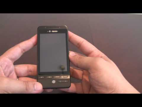 T-Mobile G2 Touch (HTC Hero) Unboxed
