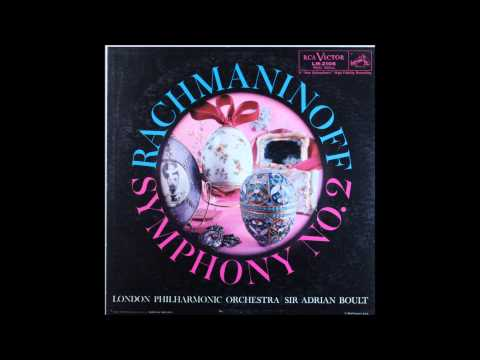 Rachmaninoff, Symphony No 2, 1st mov, Adrian Boult, Conductor