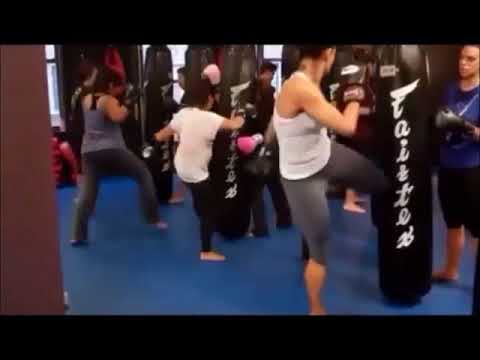 Fitness Kickboxing for women in Midtown Manhattan 10018
