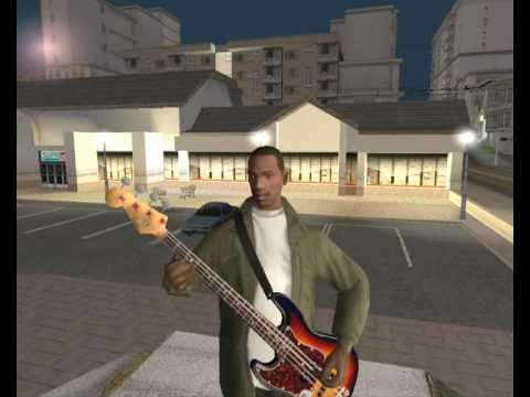 GTA SA Desperado - Guitar MOD - YouTube