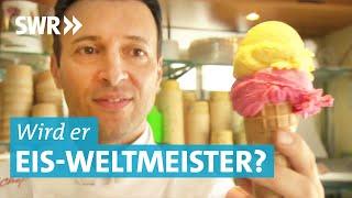 Giuseppe Cimino will den Eis-WM-Pokal | Landesschau Baden-Württemberg