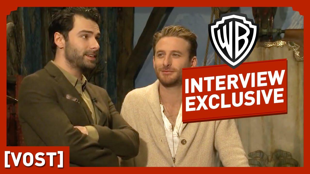 Le Hobbit - Interview Dean O'Gorman et Aidan Turner (VOST) - Peter Jackson