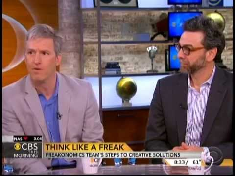 Think like a freak by stephen dubner and steven levitt youtube - Freakonomics table of contents ...