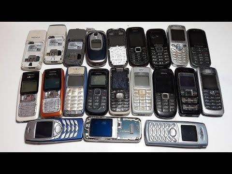 Проверка 21 ретро телефона Nokia 1100, 1112, 1110, 1202-2, 1616, Samsung Alcatel