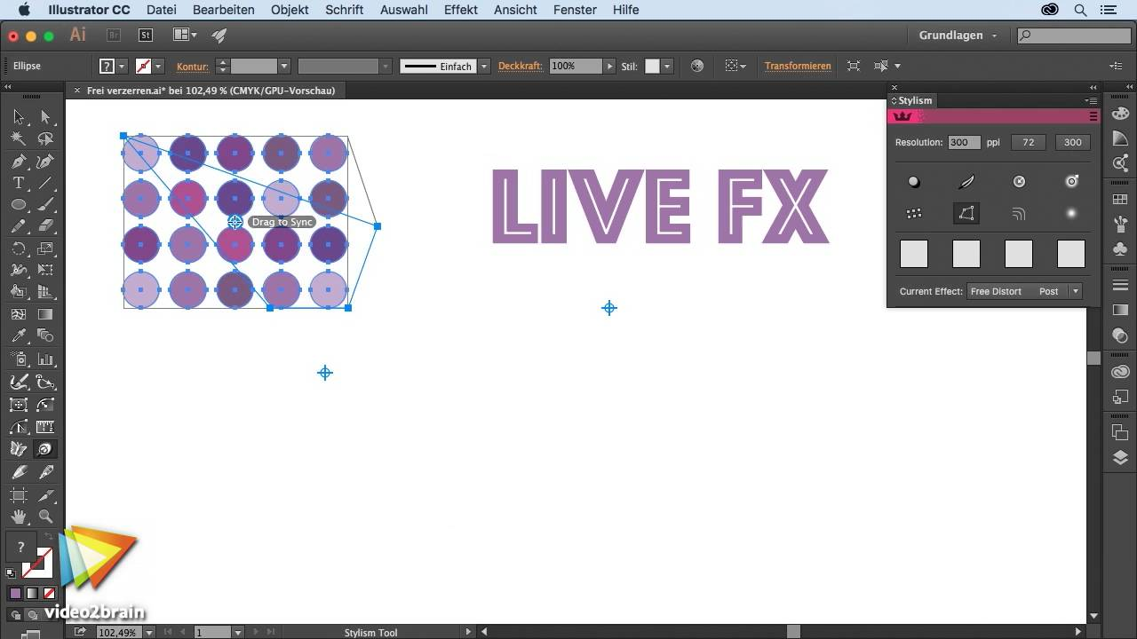 Astute Graphics Plug-ins: Effekte Tutorial: Frei verzerren ...