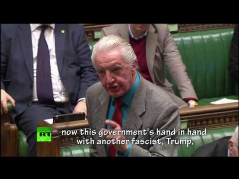 Dennis Skinner compares Trump to Hitler & Mussolini