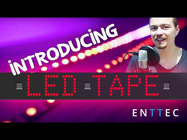Introduction to LED tape lighting