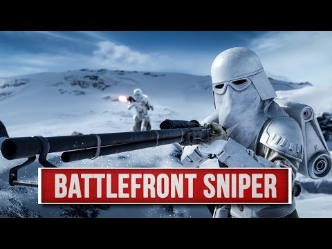 Star Wars Battlefront Sniper - So geht es am besten! (T-21B Gameplay/Loadout Guide)