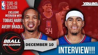 Tobias Harris And Avery Bradley Reveal Secrets Of The Clippers Playbook