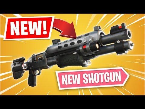 New LEGENDARY TACTICAL SHOTGUN Gameplay Update! (Fortnite Battle Royale)
