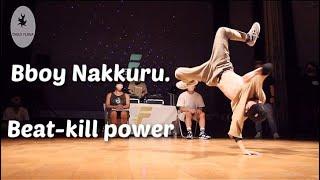 Bboy Nakkuru. Elementary kid with beat-kill powermoves. Full Throttle kids 2021