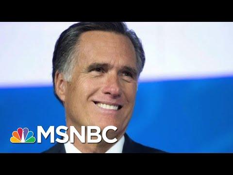 Mitt Romney Delivers Harsh Critique Of President Donald Trump In Op-Ed   Morning Joe   MSNBC