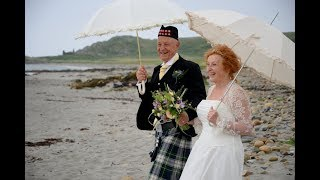Love in later years - a mature couple's young at heart romantic elopement
