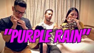 PRINCE - PURPLE RAIN (cover) by David DiMuzio + Aiden & Evelyn