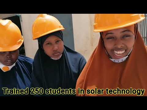 Personal Achievement in Somalia 2020. Renewable energy solutions by Tayo Solar Solutions
