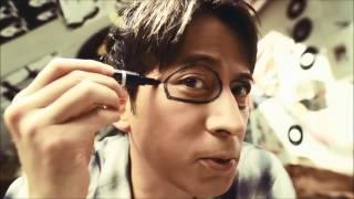 岡田准一ZEROGRA「佩戴感覺接近零」篇【日本廣告】岡田准一頗適合戴眼鏡...