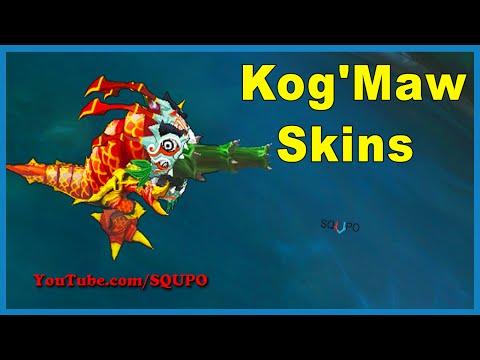 All Kog'Maw Skins (League of Legends)